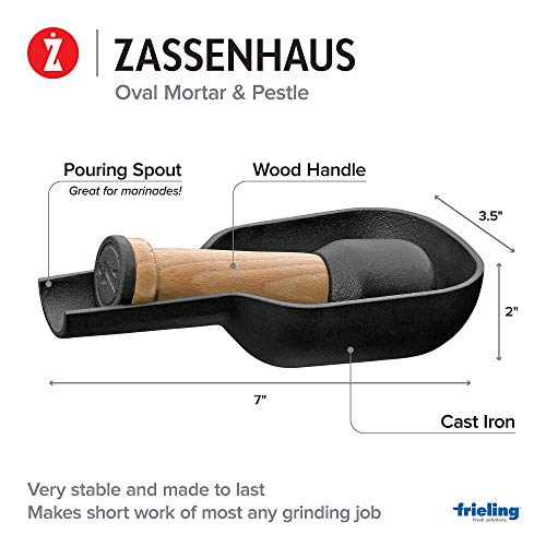 자센하우스 핸드밀 Zassenhaus KP0000076097 cast iron spice mortar wood 독일출고-529476